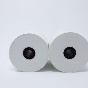 """2 1/4"""" x 165' Bond Roll Paper - 7/16""""ID - 50 rolls/case"""