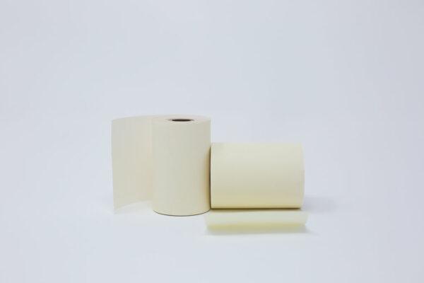 """2 1/4"""" x 50' Alpha Free, Phenol Free Roll Paper - 1/2""""ID - 50 rolls/case"""