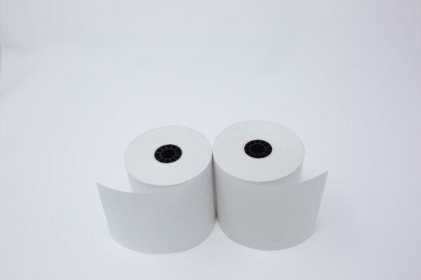 "2 1/4"" x 165' Thermal Roll Paper - 7/16""ID - 50 rolls/case"