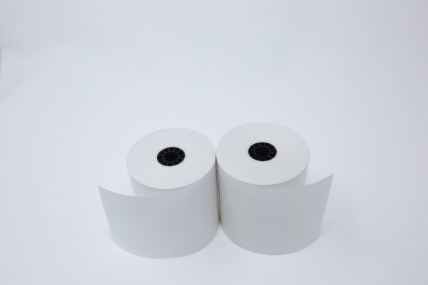 "2 1/4"" x 50' Thermal Roll Paper - 7/16""ID - 50 rolls/case"