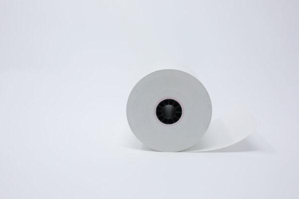 "3 1/8"" x 220' Thermal Roll Paper - 1/2""ID - 50 rolls/case"
